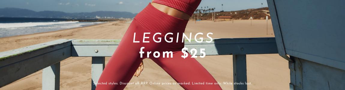 Leggings from $25