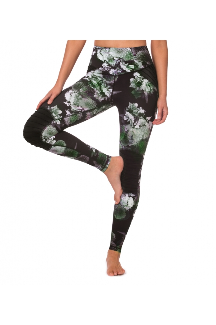 In Full Bloom Moto Legging