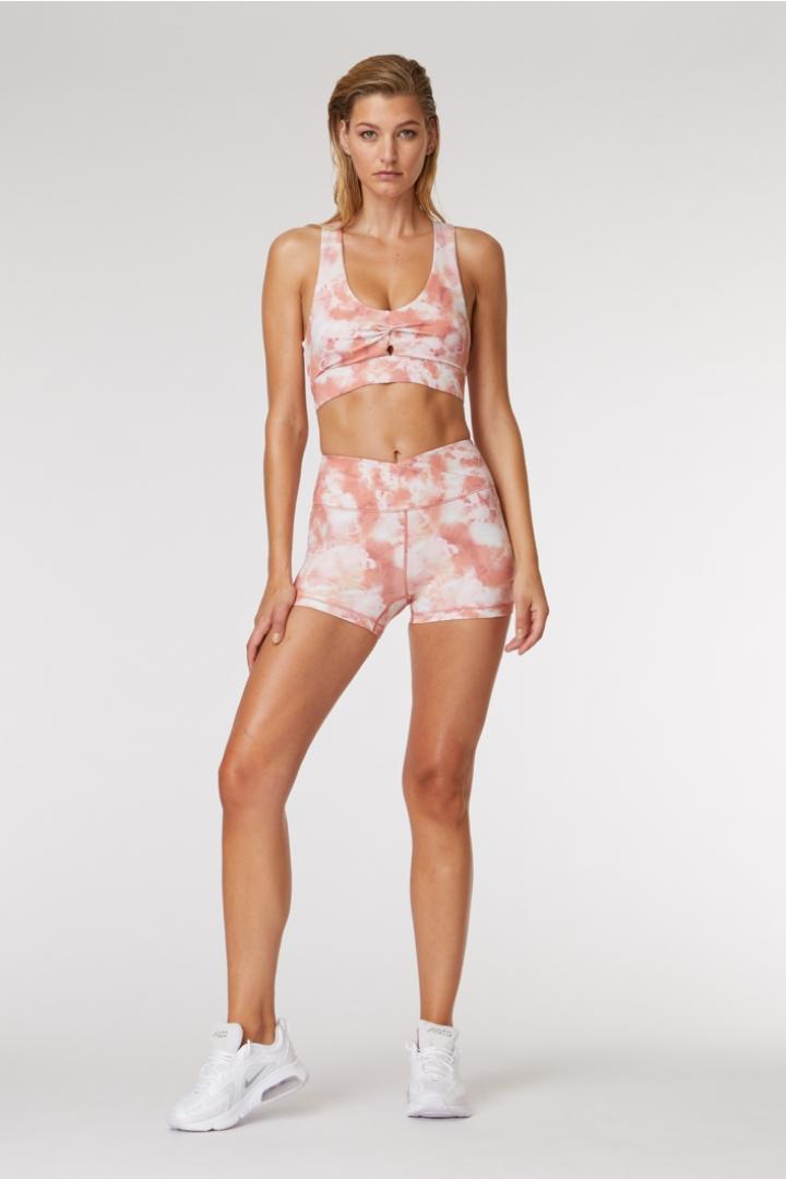 Pink Rock Yoga Short