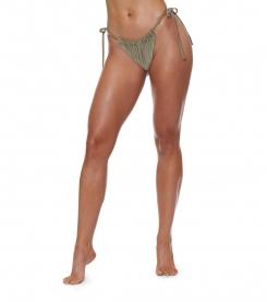 Shimmer Me String Bikini Bottom