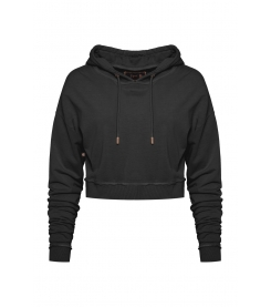 Early Mornings Crop Hoodie
