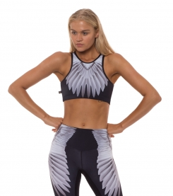 Broken Wings Halter Crop