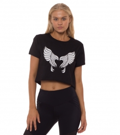 Take Flight Crop Tee
