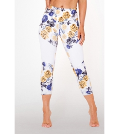 Vintage Bloom 3/4 Legging