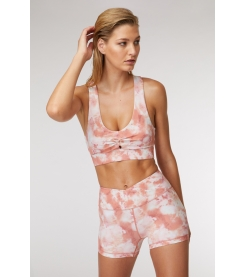 Pink Rock Yoga Short