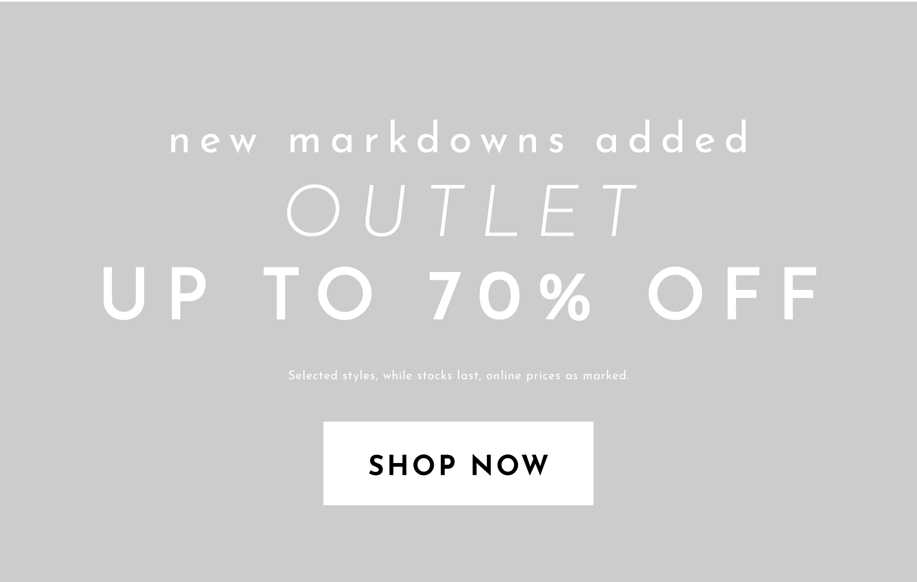 LAST CHANCE - UP TO 70% OFF
