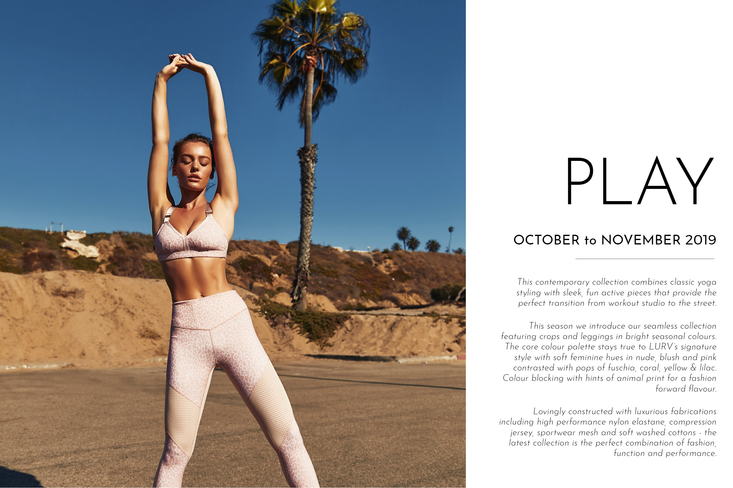 PLAY - October / November
